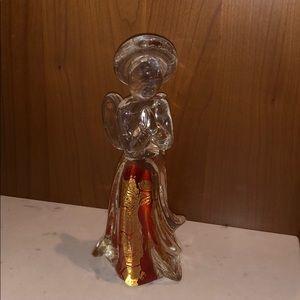 Blown glass angel